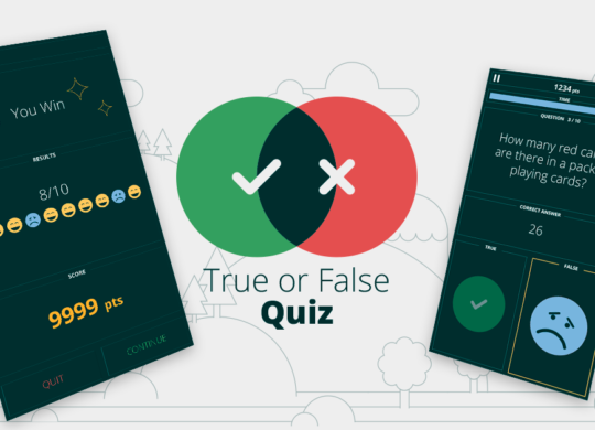 True of False cover image